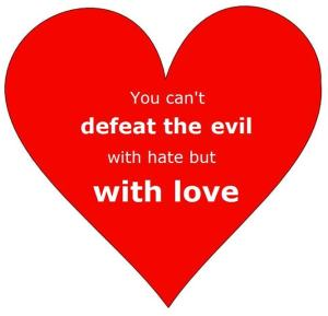 defeat the evil
